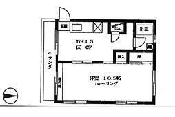 第一松栄マンション[301号室]の間取り