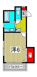プチパレス[2階]の間取り