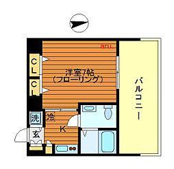 トーシンフェニックス吉祥寺参番館[7階]の間取り