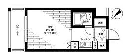 神奈川県横浜市保土ケ谷区和田1丁目の賃貸マンションの間取り