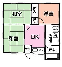 [一戸建] 千葉県市原市島野 の賃貸【/】の間取り