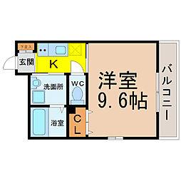 ベルグ大須[2階]の間取り