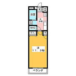ANNEX−III[2階]の間取り