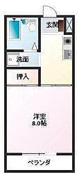 酒折駅 2.5万円
