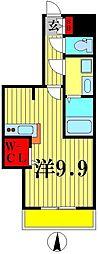 ツリーデン松戸2[3階]の間取り