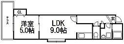 発寒駅 4.5万円