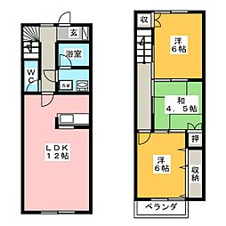 21ウイングI[1階]の間取り