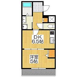 Casa Kuramaguchi(カーサ鞍馬口)[302号室]の間取り