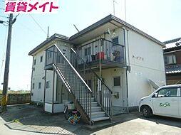 コーポアキ[1階]の外観