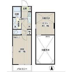 そらまめハウス[2階]の間取り