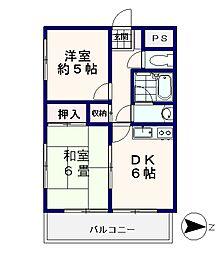 モナーク東高円寺[2階]の間取り