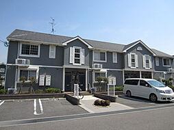 大阪府岸和田市池尻町の賃貸アパートの外観