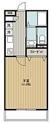 SAKASU SIROGANE[102号室]の間取り