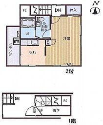 浅井ハウス[2階]の間取り