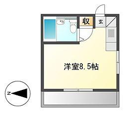 アスク正木[5階]の間取り