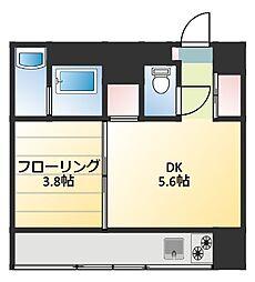 KITAHAMA CONSOLE[6階]の間取り