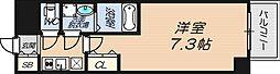 S-RESIDENCE新大阪WEST[13階]の間取り