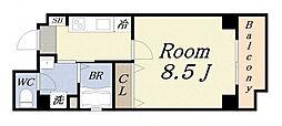 ドーム千代崎[7階]の間取り