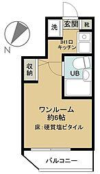 パレ・ドール八王子II[4階]の間取り