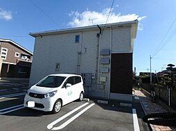 愛媛県松山市古川北2丁目の賃貸アパートの外観