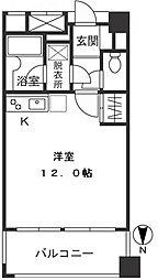 宮崎台ローズプラザ[202号室]の間取り