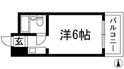 ダイドーメゾン門戸2[3階]の間取り