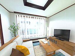 釧路市益浦2丁目 戸建て 4LDKの居間
