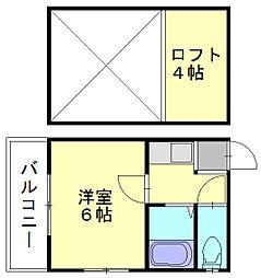 アネックスV[2階]の間取り
