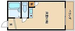 グランセオ泉佐野[3階]の間取り
