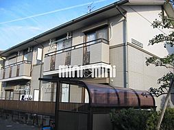 ツインパークA棟[1階]の外観