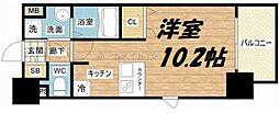 プレサンス大阪城公園ネクサス[13階]の間取り