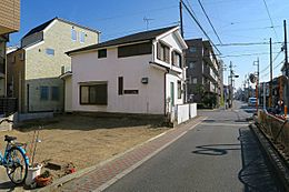 葛飾区細田1丁目 売土地の現地写真です。