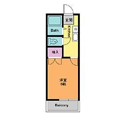 サンテラス毛利台[1階]の間取り