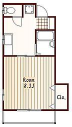 JR中央線 三鷹駅 徒歩6分の賃貸アパート
