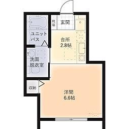 新築物件条件の相談コアプラス船橋行田[202号室]の間取り
