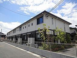滋賀県野洲市冨波甲の賃貸アパートの外観