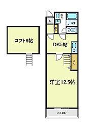 セレブコート昭和町[3階]の間取り