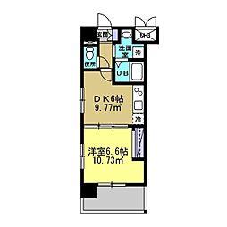 MANAKA BLD[505号室]の間取り