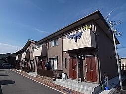 兵庫県たつの市揖保川町神戸北山の賃貸アパートの外観