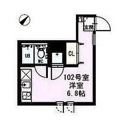 DUPLEST千川[1階]の間取り
