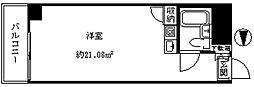 新宿グリーンプラザ[602号室]の間取り