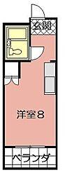 京町スカイマンション 604[604号室]の間取り