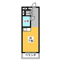 KATAYAMAIII[2階]の間取り