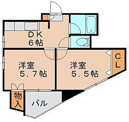 Mハウス[3階]の間取り