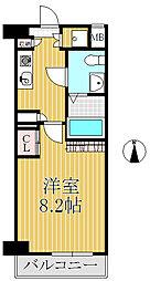 Avion7M8[2階]の間取り