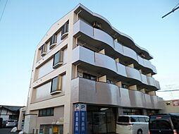 東京都立川市若葉町3丁目の賃貸マンションの外観