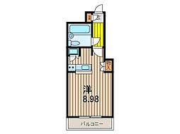 ワコーレ川口III[3階]の間取り