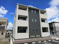 愛知県西尾市徳次町九伝の賃貸アパートの外観