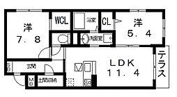 仮)シャーメゾン宮町1丁目計画[103号室号室]の間取り