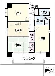 アスペン上田ビル[7階]の間取り